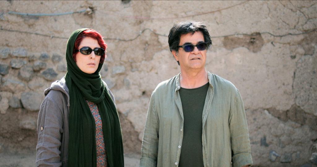 Behnaz Jafari & Jafar Panahi in a scene from 3 Faces, courtesy Kino Lorber