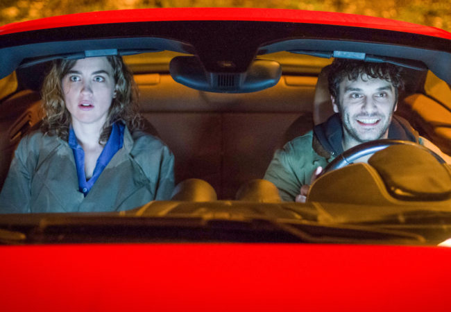 Pio Marmaï and Adèle Haenel in The Trouble with You