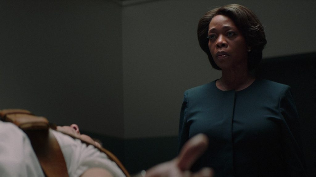 Alfre Woodard and Alex Castillo appear in Clemency by Chinonye Chokwu