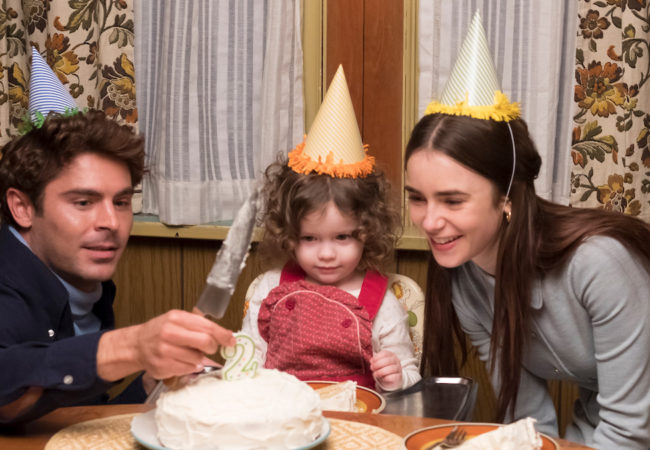 Zac Efron and Lily Collins appear in Extremely Wicked, Shockingly Evil and Vile directed by Joe Berlinger