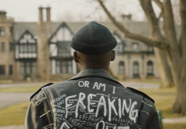 Ashton Sanders appears in Native Son by Rashid Johnson
