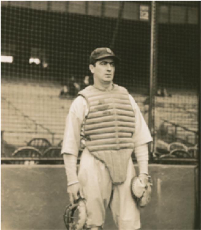 Moe Berg. The Spy Behind Home Plate. Courtesy of the National Baseball Hall of Fame