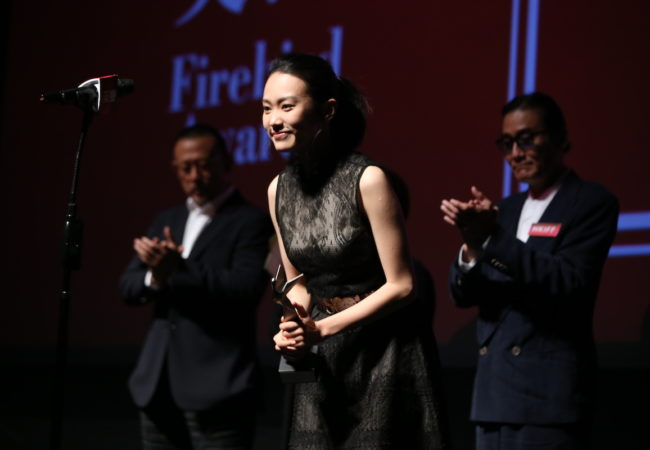 Wang Lina director of A First Farewell
