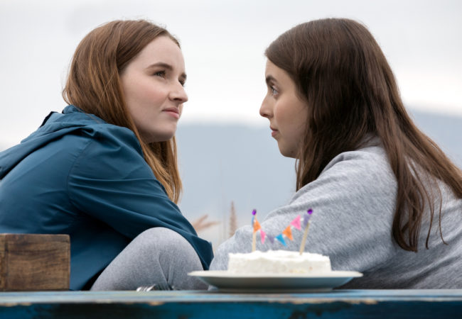 Kaitlyn Dever stars as Amy and Beanie Feldstein as Molly in Olivia Wilde's directorial debut, BOOKSMART, an Annapurna Pictures release. Credit: Francois Duhamel / Annapurna Pictures