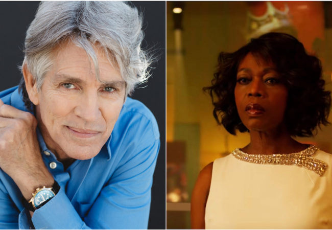 Eric Roberts and Alfre Woodard