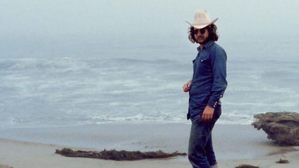 Jim Allison: Breakthrough. Jim Allison on beach in San Diego, 1975. | Credit: Malinda Allison