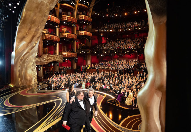 Alfonso Cuarón accepts the Oscar® for achievement in directing ROMA during the live ABC Telecast of The 91st Oscars® at the Dolby® Theatre in Hollywood, CA on Sunday, February 24, 2019.
