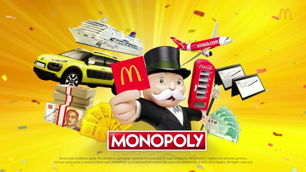 McDonald's - The MONOPOLY Game 2016