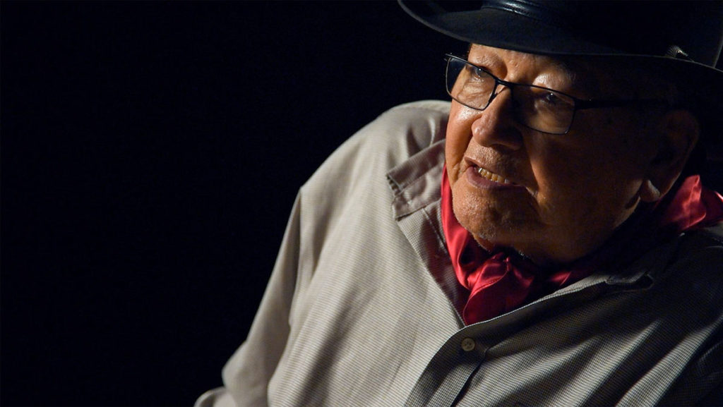 N. Scott Momaday: Words from a Bear by Jeffrey Palmer. photo by Sirin Samman.