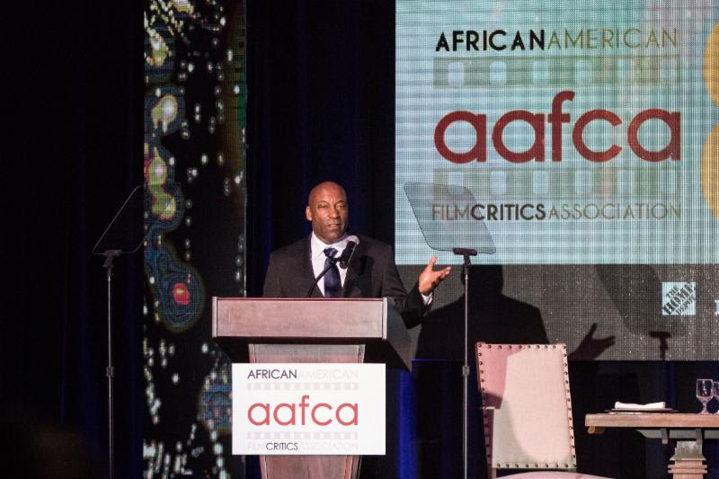 John Singleton at the 2017 AAFCA Awards in Hollywood, CA (credit: AAFCA)