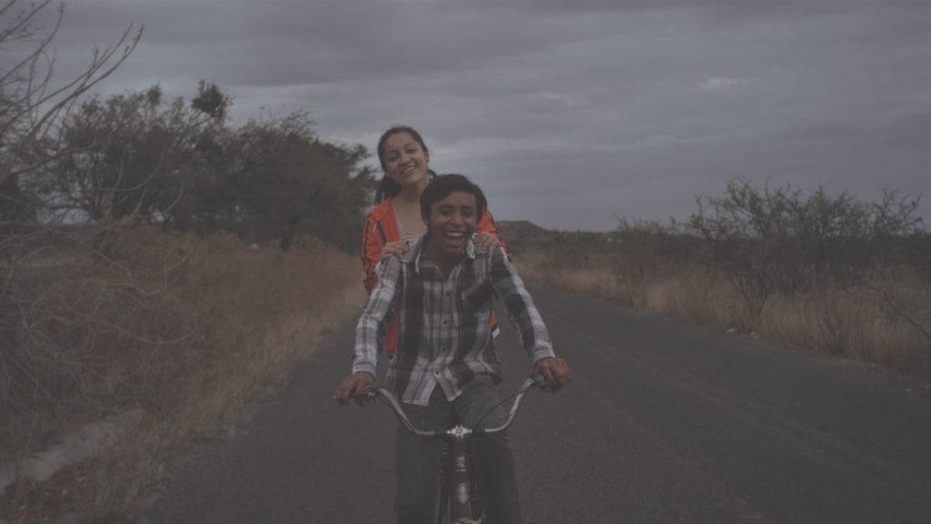 Ana (Regina Reynoso) and Lalo (Eduardo Banda) in The Gasoline Thieves (Huachicolero) (Mexico, Spain, UK, USA) directed by Edgar Nito