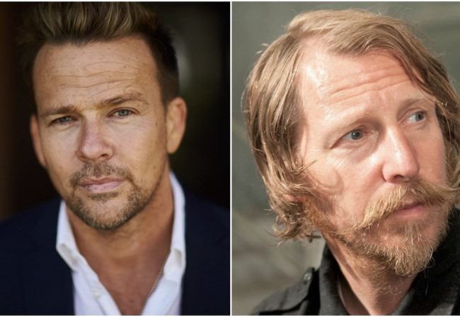 Sean Patrick Flanery and Lew Temple