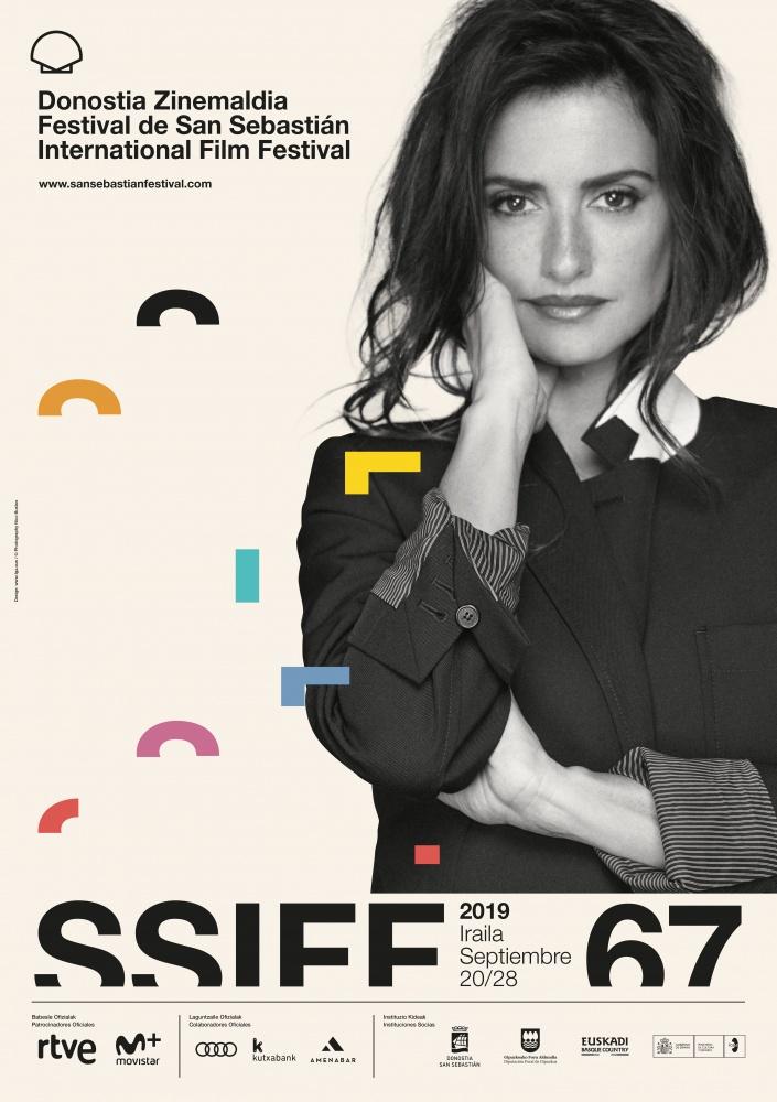 Penélope Cruz featured on poster of 67th San Sebastian Festival