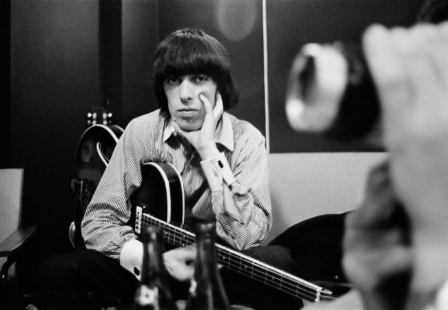 THE QUIET ONE. Bill Wyman in the Studio. Photo credit Bent Rej. Courtesy of Sundance Selects