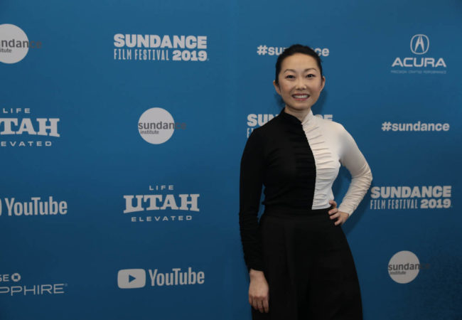 Director Lulu Wang attends the World Premiere of The Farewell by Lulu Wang, an official selection of the U.S. Dramatic Competition at the 2019 Sundance Film Festival. © 2019 Sundance Institute | photo by Jemal Countess.