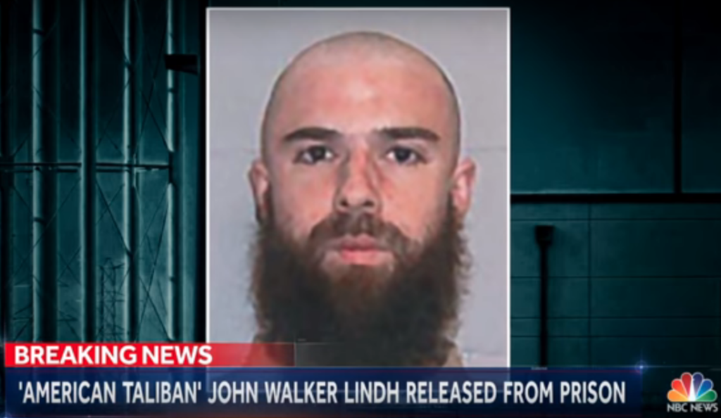 """American Taliban"" John Walker Lindh via YouTube"