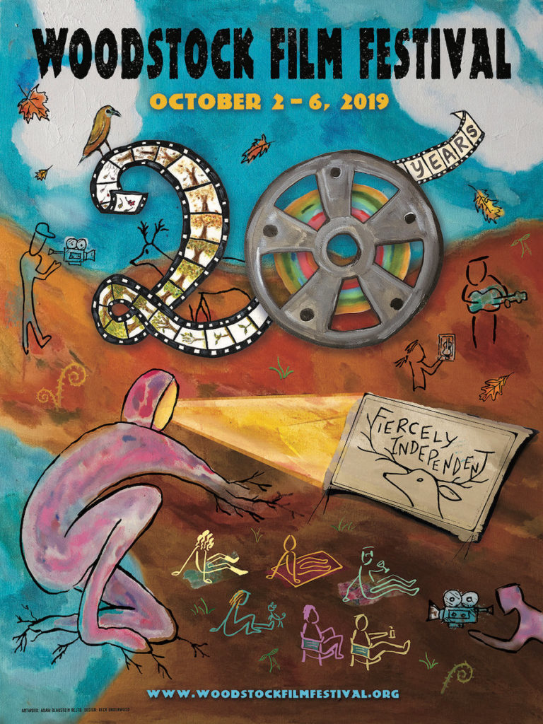 Woodstock Film Festival 20th Anniversary Edition Poster
