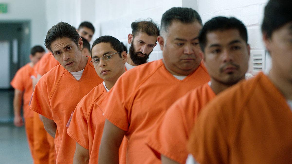 Maynor Alvarado and Manuel Uriza appear in The Infiltrators by Cristina Ibarra and Alex Rivera.
