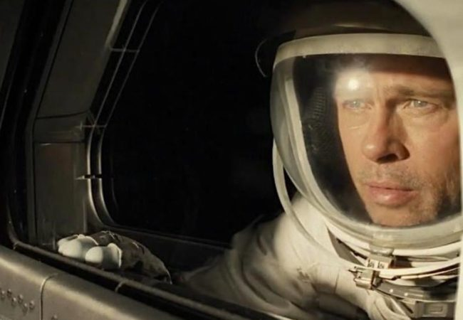 AD ASTRA directed by James Gray and starring Brad Pitt