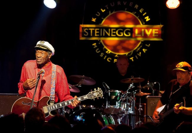 Chuck Berry with his Band live at Steinegg Live Festival 2013