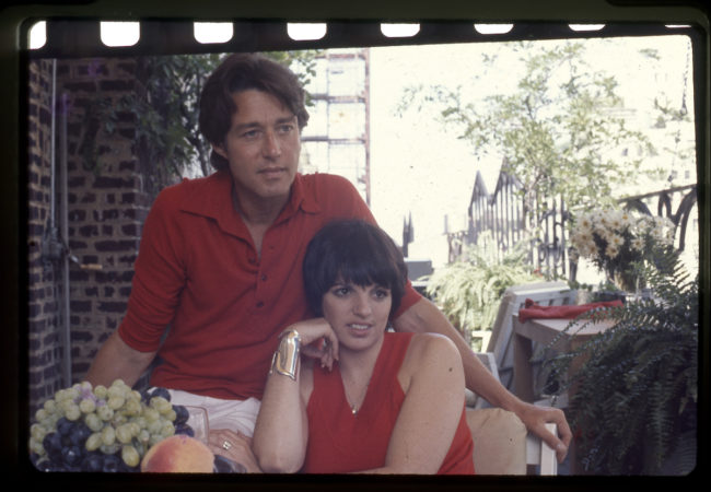 LIZA MINNELLI and HALSTON in HALSTON