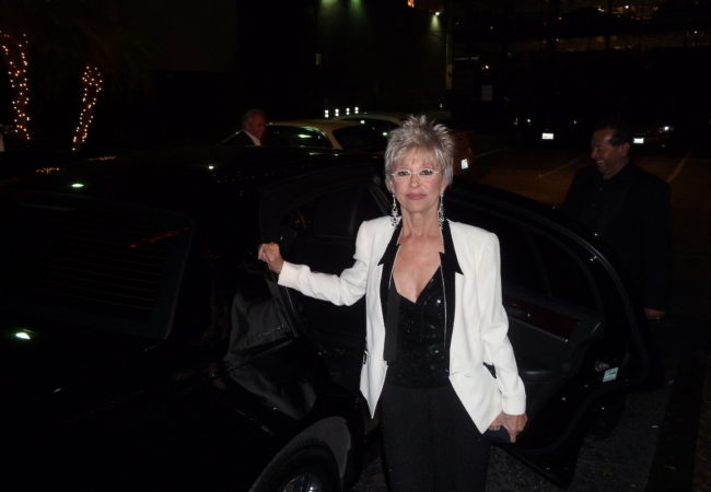 Rita Moreno Arriving for the Red Carpet at the West Side Story 50th Anniversary Celebration