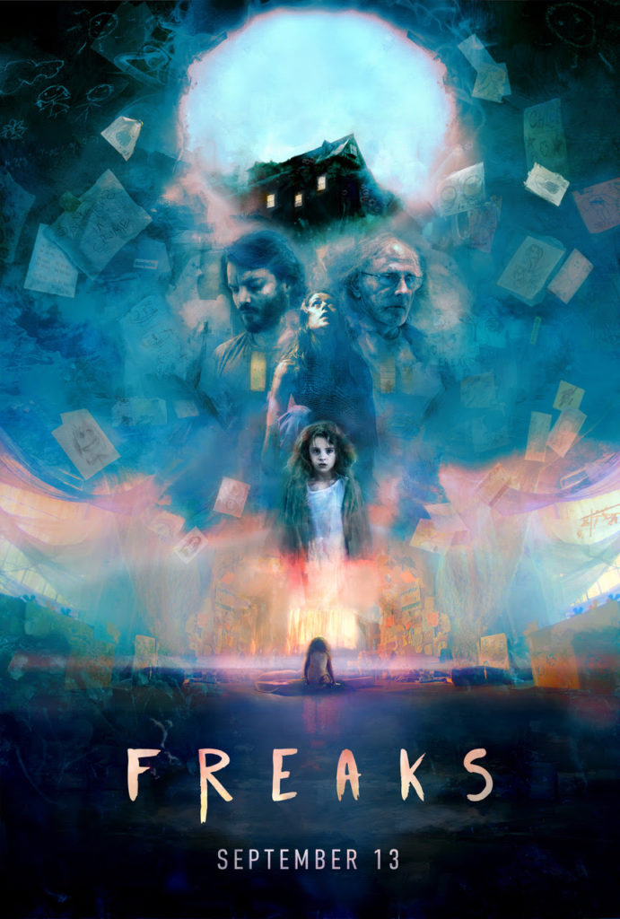 Movie Poster for FREAKS directed Adam Stein and Zach Lipovsky