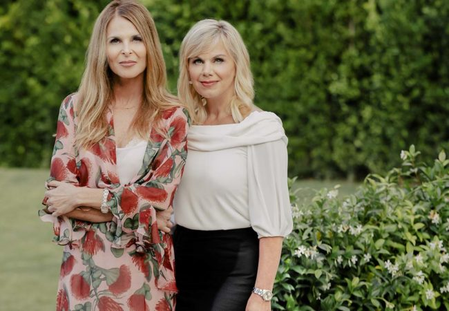 Catherine Oxenberg, Gretchen Carlson