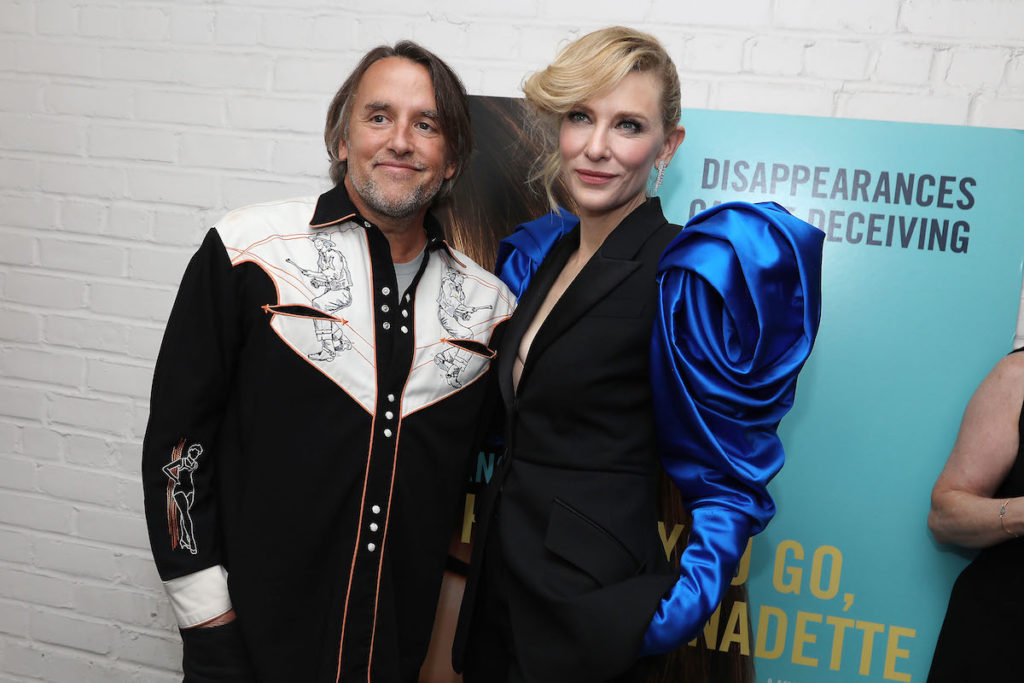 """- New York, NY - 8/12/19 - World Premiere of """"WHERE'D YOU GO, BERNADETTE"""" - Afterparty. The film stars Billy Crudup, Cate Blanchett, Emma Nelson and Troian Bellisario, and is co-written and directed by Richard Linklater. It opens nationwide in theaters on August 16th, 2019. -Pictured: -Photo by: Kristina Bumphrey/StarPix -Location: Metrograph"""