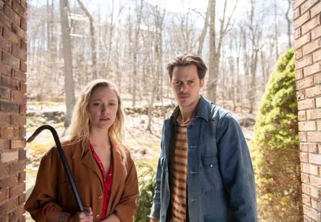 VILLAINS Starring Bill Skarsgård and Maika Monroe