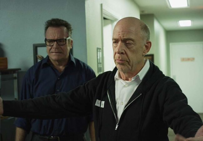 Tom Arnold and J.K. Simmons in 3 Days with Dad