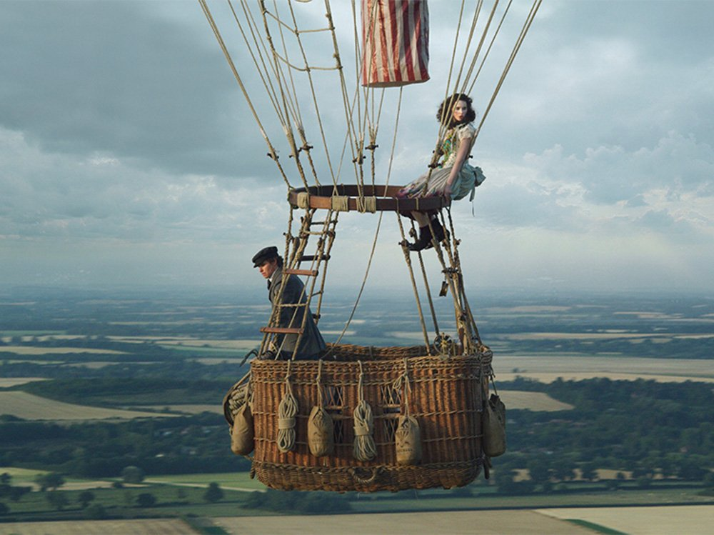 THE AERONAUTS directed by Tom Harper