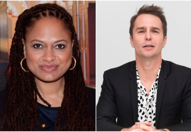 Director Ava DuVernay and Actor Sam Rockwell