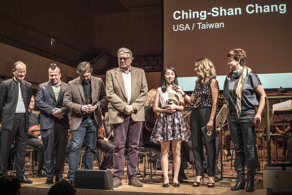 Ching-Shan Chang wins the 8th International Music Film Competition
