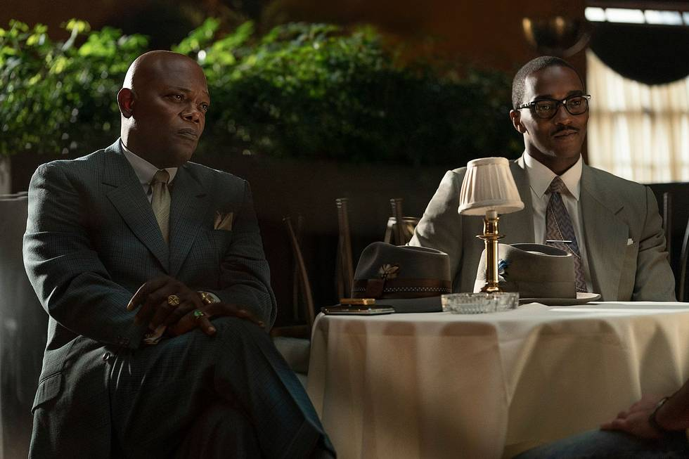 THE BANKER starring Anthony Mackie and Samuel L. Jackson