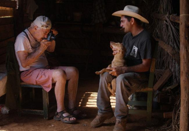 Film still from ELLIOTT ERWITT SILENCE SOUNDS GOOD shoot by ALS in a Tobacco farm in Viñales, Cuba, July, 2015.