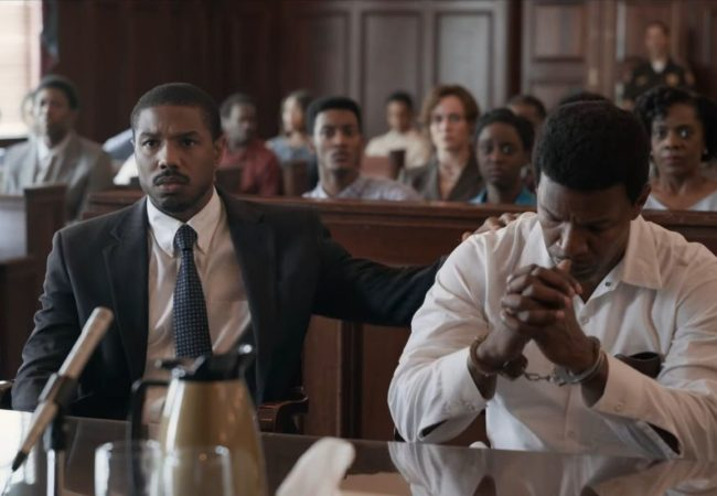 JUST MERCY by Destin Daniel Cretton, starring Michael B. Jordan, Jamie Foxx,