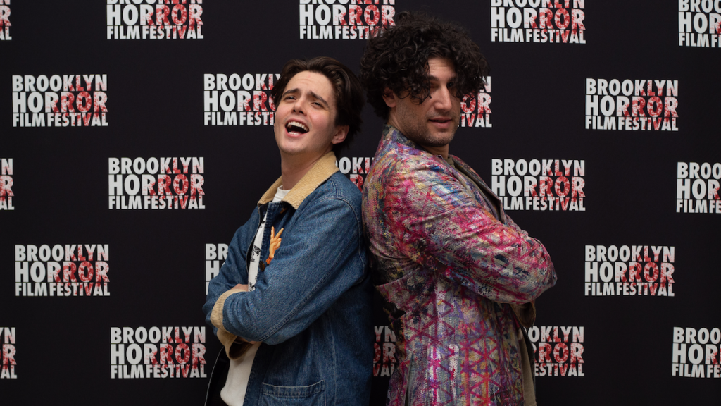 Miles Robbins & Adam Egypt Mortimer of DANIEL ISN'T REAL at 2019 Brooklyn Horror Film Festival - Photo By Conor Scharr
