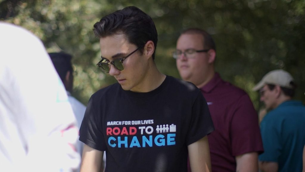 DAVID HOGG in AFTER PARKLAND by Emily Taguchi and Jake Lefferman