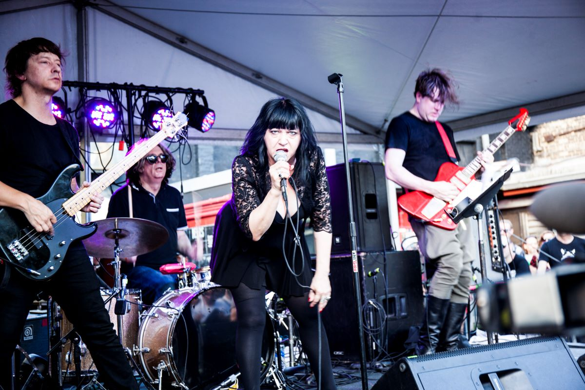 LYDIA LUNCH in LYDIA LUNCH - The War Is Never Over by Beth B