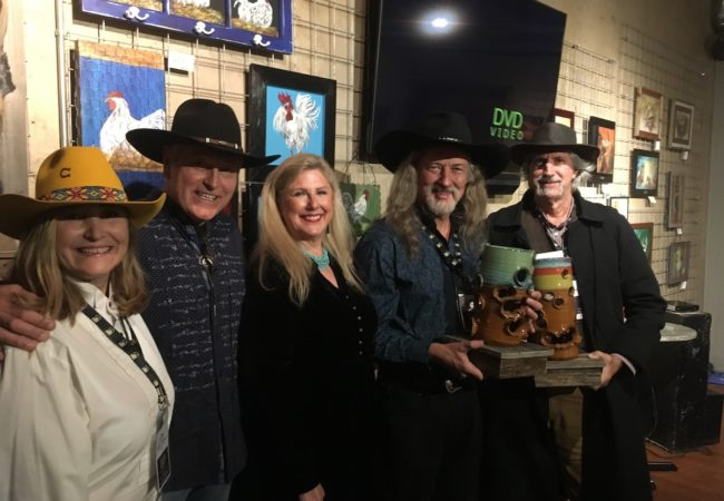 Billy the Kid Film-Festival 2019 - Luci Digiorgio, Philip Vazquez, Sarah Pennington, Jay Pennington, George Meyers 11.2.19 (Photo by Wildman)