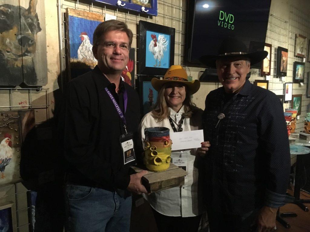 Billy the Kid Film-Festival 2019 - Tom Partain, Luci Digiorgio, Philip Vazquez (Photo by Wildman)