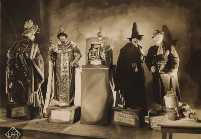 Waxworks by Paul Leni Emil Jannings, Conrad Veidt, Wilhelm Dieterle and Werner Krauß. Source: Deutsche Kinemathek