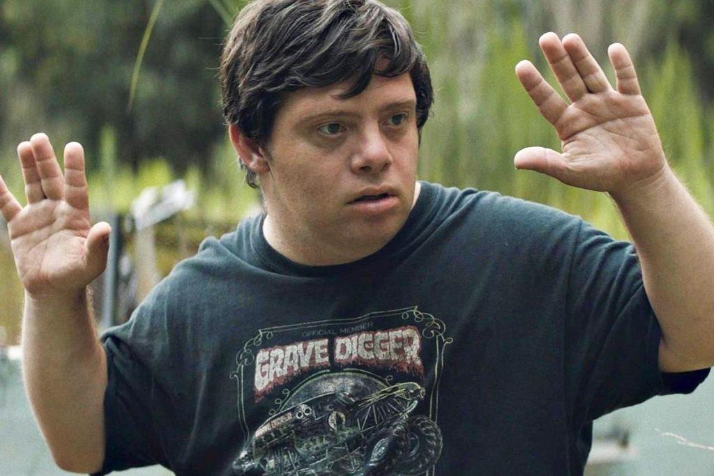 """Zack Gottsagen in """"The Peanut Butter Falcon"""""""