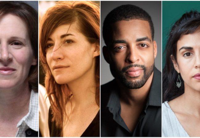2020 FILM INDEPENDENT SPIRIT AWARDS FILMMAKER GRANT WINNERS. (L to R) Kelly Reichardt, Mollye Asher, Rashaad Ernesto Green and Nadia Shihab
