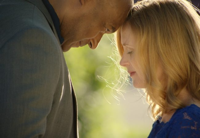 NATASHA LITTLE AND COLIN SALMON IN THE BET