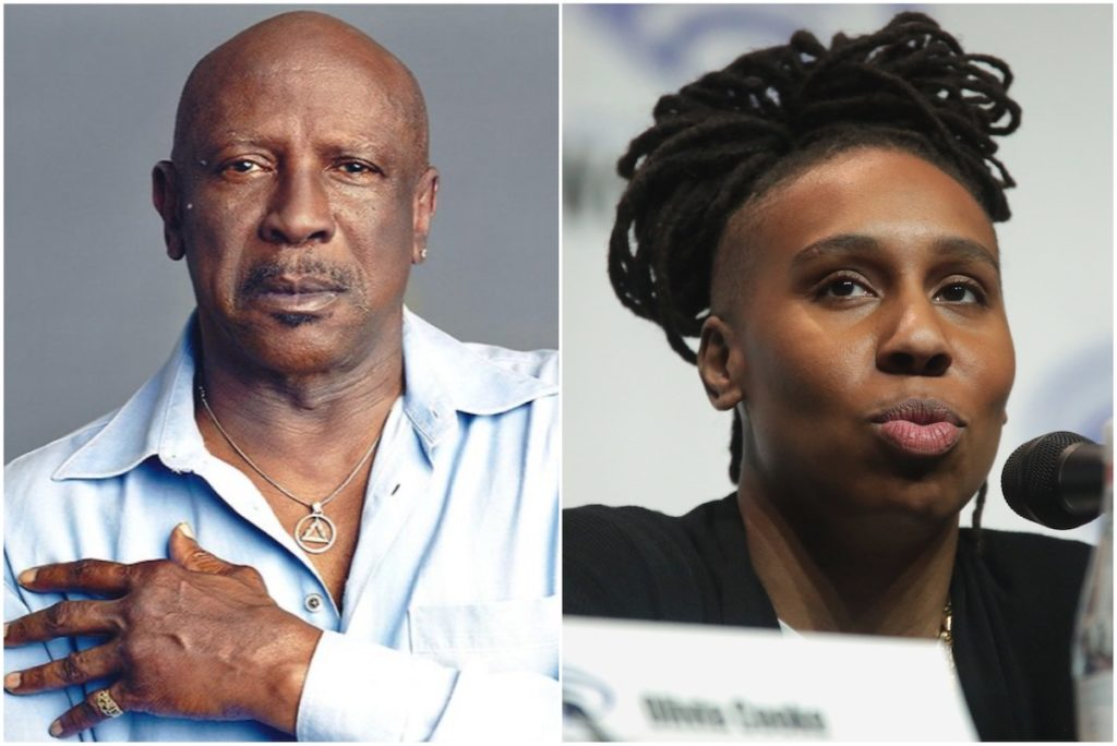 Louis Gossett, Jr. and Lena Waithe