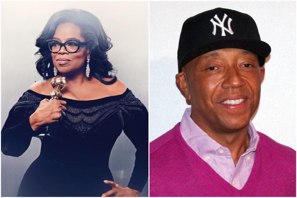 Oprah Winfrey, Russell Simmons