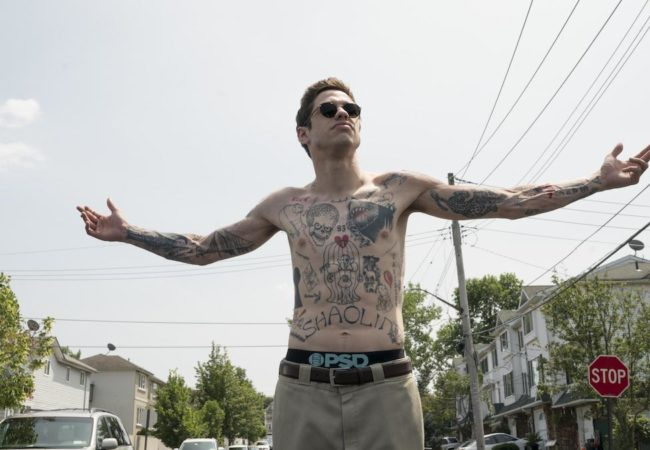 The King of Staten Island starring Pete Davidson. Director: Judd Apatow. (Credit: Mary Cybulski / Universal Pictures)