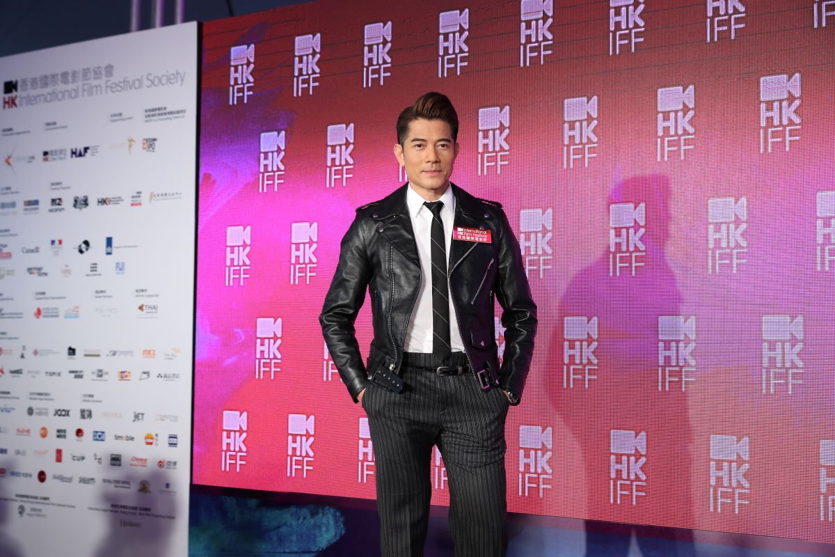 Actor Aaron Kwok reprises his role as HKIFF44's Festival Ambassador